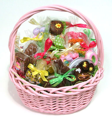 Sweets large easter basket sweets offers chocolates nuts large easter basket negle Gallery